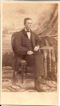 Titre original :  Robert Henry Bethune. Courtesy of the Dundas Museum & Archives.