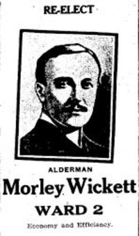 Original title:  Morley Wickett. From: Toronto Daily Star, 27 Dec 1913, page 4.
