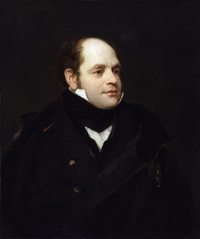 Original title:  Sir John Franklin, by Thomas Phillips (died 1845).