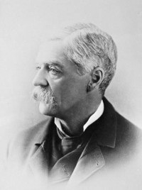 Titre original :  Picture of the Hon. Auguste Real Angers.