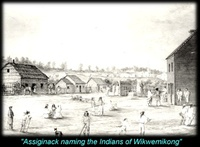 Titre original :  Chapter 12 - The Odawa - Assiginack naming the Indians of Wekwemikong