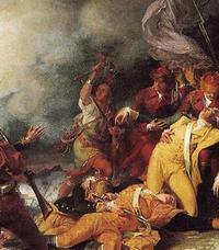 "Titre original :    Description English: Detail of Joseph Louis Cook from ""Death of General Montgomery in the Attack on Quebec, 1786"" by John Trumbull Date 1786(1786) Source Detail of Colonel Louis from Death of Montgomery.jpg Author Mingusboodle Other versions Death of Montgomery.jpg"