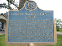 Original title:  Our Hero - Col. Matthew Elliott
