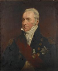 Titre original :    Description English: Richard Godwin Keats Date 18/19th Century Source http://ageofsail.wordpress.com/2009/04/01/vice-admiral-sir-richard-goodwin-keats/ Author Unknown