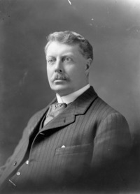 Titre original :  Dr. John Gunion Rutherford (1857-1923), Veterinary Director General and Live Stock Commissioner, Department of Agriculture.
