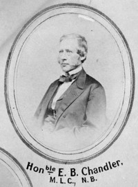 Titre original :  Picture of Edward B. Chandler.