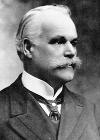 Original title:    Description English: Alphonse Desjardins, Cofounder of the Alphonse Désjardins Cooperative Bank Date 1913(1913) Source Confédération des Caisses Populaires Desjardins Author Alfred George Pittaway