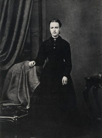 Original title:    Description Laure Conan (pseudonyme de Marie-Louise Félicité Angers) Date c.1870 Source This image is available from the Bibliothèque et Archives nationales du Québec under the reference number P1000,S4,D83,PC103 This tag does not indicate the copyright status of the attached work. A normal copyright tag is still required. See Commons:Licensing for more information. Boarisch | Česky | Deutsch | Zazaki | English | فارسی | Suomi | Français | हिन्दी | Magyar | Македонски | Nederlands | Português | Русский | Tiếng Việt | +/− Author Unknown Permission (Reusing this file) Public domainPublic domainfalsefalse This Canadian work is in the public domain in Canada because its copyright has expired due to one of the following: 1. it was subject to Crown copyright and was first published more than 50 years ago, or it was not subject to Crown copyright, and 2. it is a photograph that was cre