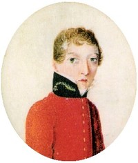 Titre original :    Description English: Miniature portrait of James Barry, painted between 1813 and 1816, before his first posting abroad. Date 1813-16 Source http://www.samj.org.za/index.php/samj/article/viewFile/130/425 Author Unknown Permission (Reusing this file) Public domain