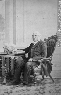 Original title:  Photograph Rev. R. R. Burrage, Montreal, QC, 1862 William Notman (1826-1891) 1862, 19th century Silver salts on paper mounted on paper - Albumen process 8.5 x 5.6 cm Purchase from Associated Screen News Ltd. I-4462.1 © McCord Museum Keywords:  male (26812) , Photograph (77678) , portrait (53878)