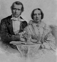 Titre original :  Rev. and Mrs. George Nicol Gordon, c. 1856