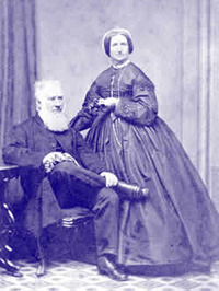 Titre original :    Samuel Bealey Harrison and wife c. 1840