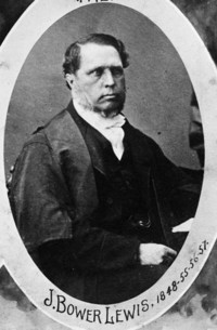 Original title:  J. Bower Lewis, Mayor of Ottawa, 1848-1855-1856-1857.