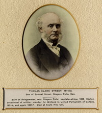 Original title:  Portrait of Thomas Clark Street, 1814-1872; Author: Uknown; Author: Year/Format: 1913, Picture