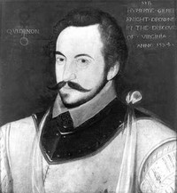 Original title:    Sir Humphrey Gilbert, ca. 1584