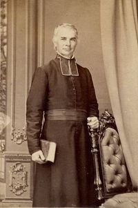 Original title:    Description Français : Joseph-David Déziel (1806-1882), fondateur de la Ville de Lévis en 1861 English: Joseph-David Déziel,Roman Catholic parish priest Date circa 1860 Source Fonds J. E. Livernois Ltée - This image is available from the Bibliothèque et Archives nationales du Québec under the reference number P560,S2,D1,P268 This tag does not indicate the copyright status of the attached work. A normal copyright tag is still required. See Commons:Licensing for more information. Boarisch | česky | Deutsch | Zazaki | English | فارسی | suomi | français | हिन्दी | magyar | македонски | Nederlands | português | русский | ไทย | Tiếng Việt | +/− Author J. E. Livernois