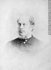 Original title:  Photograph Robert Hay, Montreal, QC, 1864 William Notman (1826-1891) 1864, 19th century Silver salts on paper mounted on paper - Albumen process 8.5 x 5.6 cm Purchase from Associated Screen News Ltd. I-13862.1 © McCord Museum Keywords:  male (26812) , Photograph (77678) , portrait (53878)