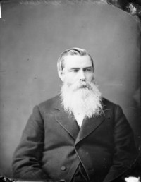 Original title:  Hon. John O'Connor, M.P. (Russell, Ont.), (Postmaster-General) b. Jan. 1824 - d. Nov. 3, 1887.