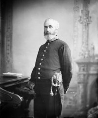 Titre original :  Hon. Thomas White, M.P. (Cardwell, Ont.) (Minister of the Interior) b. Aug. 7, 1830 - Apr. 21, 1888.