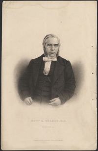 Original title:  Rev. H. Wilkes.