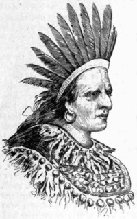 Original title:    Description Portrait of Oneida chief Swatane (a.k.a. Shikellimy) Date published 1889 Source Appletons' Cyclopædia of American Biography, v. 6, 1889, p. 5 Author Jacques Reich (probably based on an earlier work by another artist) Permission (Reusing this file) Public domainPublic domainfalsefalse This work is in the public domain in the United States because it was published (or registered with the U.S. Copyright Office) before January 1, 1923. Public domain works must be out of copyright in both the United States and in the source country of the work in order to be hosted on the Commons. If the work is not a U.S. work, the file must have an additional copyright tag indicating the copyright status in the source country. العربية | Български | Česky | Dansk | Deutsch | Ελληνικά | English | Español | فارسی | Français | Magyar | Italiano | 日本語 | 한국어 | Lietuvių | Македонски | മലയാളം |