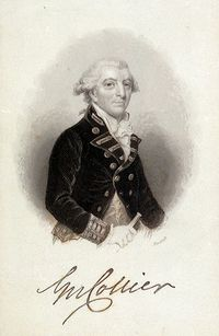 Original title:    Description English: Vice Admiral Sir George Collier 1738-1795 Date 1795(1795) Source The National Maritime Museum Author John James Hinchliff Permission (Reusing this file) Public domainPublic domainfalsefalse This image (or other media file) is in the public domain because its copyright has expired. This applies to Australia, the European Union and those countries with a copyright term of life of the author plus 70 years. You must also include a United States public domain tag to indicate why this work is in the public domain in the United States. Note that a few countries have copyright terms longer than 70 years: Mexico has 100 years, Colombia has 80 years, and Guatemala and Samoa have 75 years, Russia has 74 years for some authors. This image may not be in the public domain in these countries, which moreover do not implement the rule of the shorter term. Côte d'Ivoire has a
