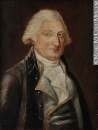 Titre original :  Painting Portrait of James Cuthbert (about 1719-1798) Louis Dulongpré 1795-1798, 18th century 63.5 x 48 cm Gift of Miss Wendy Weaver M2009.31.1 © McCord Museum Keywords: