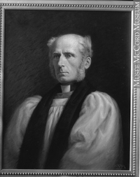 Original title:  Photograph Bishop Oxenden, painting by Legh Mulhall Kilpin, 1909, copied for Mr. Brock Wm. Notman & Son 1926, 20th century Silver salts on glass - Gelatin dry plate process 25 x 20 cm Purchase from Associated Screen News Ltd. VIEW-23678 © McCord Museum Keywords:  Art (2774) , Painting (2229) , painting (2226) , Photograph (77678)