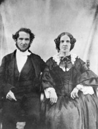 Original title:    Description Robert Terrill Rundle and his wife Mary Wolverson Date circa 1860(1860) Source Glenbow Archives Author Unknown Permission (Reusing this file) n/a - public domain
