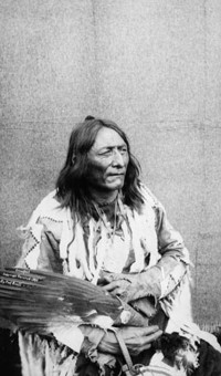 "Original title:  ""Crowfoot"", Chief of the Blackfeet Indians."