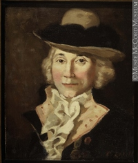 Titre original :  Painting Portrait of Charles Jean-Baptiste Chaboillez, (1736-1808) Donald Hill About 1922, 20th century Oil on canvas 30.7 x 25.4 cm Gift of Mr. David Ross McCord M1588 © McCord Museum Keywords:  male (26812) , Painting (2229) , painting (2226) , portrait (53878)
