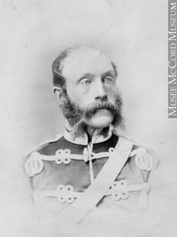 Titre original :  Photograph Lieut. Col. Maunsell, Montreal, QC, 1868 William Notman (1826-1891) 1868, 19th century Silver salts on paper mounted on paper - Albumen process 8.5 x 5.6 cm Purchase from Associated Screen News Ltd. I-33625.1 © McCord Museum Keywords:  male (26812) , Photograph (77678) , portrait (53878)