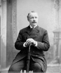 Original title:  Hon. John Costigan, M.P. (Victoria, N.B.) (Minister of Inland Revenue) b. Feb. 1, 1835 - d. Sept. 29, 1916.