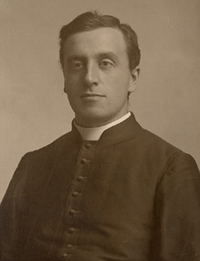 Original title:    Description Stanislas-Alfred Lortie, Roman Catholic priest, professor, and author Date c.1900 Source This image is available from the Bibliothèque et Archives nationales du Québec under the reference number P560,S2,D1,P816 This tag does not indicate the copyright status of the attached work. A normal copyright tag is still required. See Commons:Li