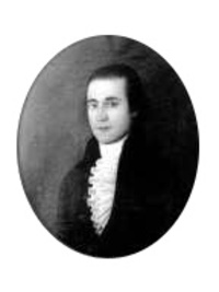 Original title:    Description Barnabas Bidwell, politician and lawyer of Massachusetts and Upper Canada. Cropped from original to remove frame. Date 19th century Source Bidwell House Museum: http://bidwellhousemuseum.org/index.php/who-is-the-person-in-the-john-brewster-jr-painting/ Author John Brewster, Jr. (1766–1854) Description American painter Date of birth/death 30 May 1766 or 31 May 1766 13 August 1854 Location of birth/death Hampton, Connecticut Buxton, Maine Work location USA Authority control VIAF: 28157253 LCCN: nr92021697 GND: 129693278 ULAN: 500013874 ISNI: 0000 0000 6681 4454 WorldCat Permission (Reusing this file) PD-Art