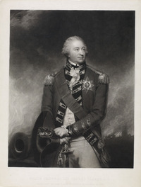 Original title:  Major General Sir Alured Clarke, K. B., Promoted to the Rank of Field Marshal in 1830.