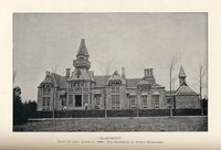 "Titre original :  ""Elmcroft"" built by John Lewis in 1880. The residence of Robert Bickerdike / [image fixe] : Henri E. Archambault, photogr."