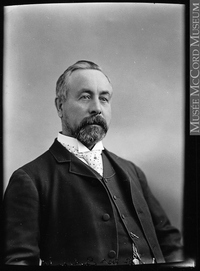 Original title:  Photograph Dr. Duncan McNab McEachran, Montreal, QC, 1895 Wm. Notman & Son 1895, 19th century Silver salts on glass - Gelatin dry plate process 17 x 12 cm Purchase from Associated Screen News Ltd. II-109119 © McCord Museum Keywords:  male (26812) , Photograph (77678) , portrait (53878)