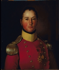 Titre original :  Français : Portrait du Major Général Joseph Wanton Morrison (1783-1826), C.B., Col. 44e régiment. English: The british general Joseph Wanton Morrison (1783-1826) Date um 1821 Source http://www.musee-mccord.qc.ca/scripts/imagedownload.php?accessNumber=M401&Lang=2&imageID=149397&format=large Author Unknown