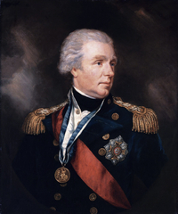 Original title:    Description English: Admiral William Waldegrave, 1st Baron Radstock (1753-1825) oil on canvas 73.5 x 60.5 cm Date 19th century Source Sotheby's Author James Northcote