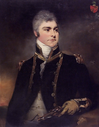 Titre original :    Description English: Admiral Sir Charles Hamilton, 1767-1849 oil on canvas 91.5 x 71 cm Date circa 1800 Source Royal Museums Greenwich Author William Beechey (1753–1839)   Alternative names Henry William Beechey Description British portrait painter Date of birth/death 12 December 1753 28 January 1839 Location of birth/death England London Work location England Authority control VIAF: 74124605 LCCN: nr89014510 GND: 122961765 BnF: cb149692843 ULAN: 500014785 ISNI: 0000 0000 6664 1098 WorldCat