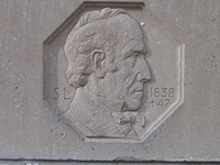 Original title:  File:Sam Lount bas relief.jpg - Wikipedia, the free encyclopedia