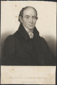 Titre original :  Revd. William Bennett, Nova Scotia.