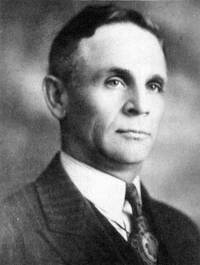 Original title:  John Bracken, Premier of Manitoba, circa 1941.