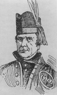 Titre original :  Archibald McNab, 17th Chief of Clan Macnab / Archibald McNab, 17e chef du clan Macnab