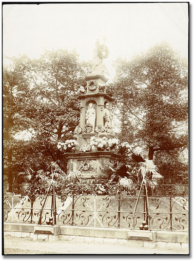 Titre original :  Image of Fenian monument