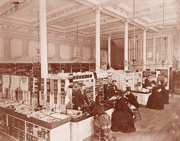 Original title:  The Henry Morgan  & Co. Department Store, 1870
