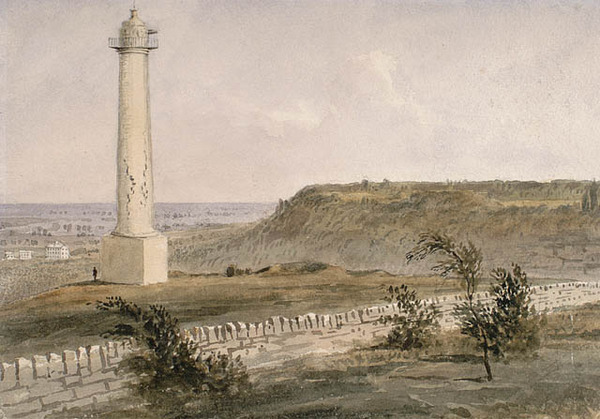 Original title:  Monument de Brock à Queenston Heights.