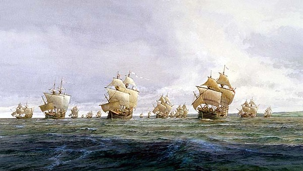 Original title:  Civilization.ca - Voyages of Martin Frobisher - Ships of the third voyage