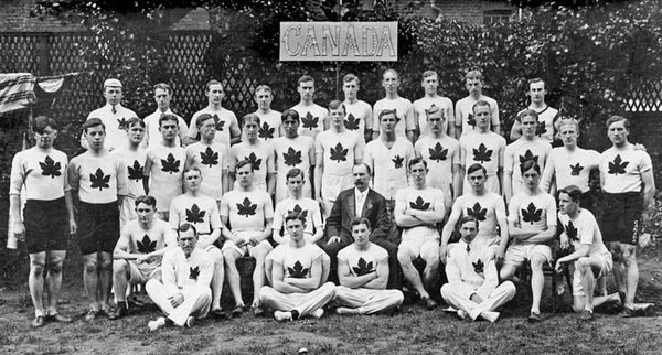 Titre original :  Team Canada 1908 London